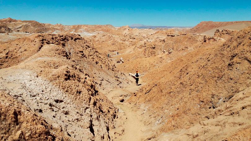Como foi que venci o medo do Deserto?